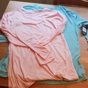 NWT Lot of long sleeve active tops